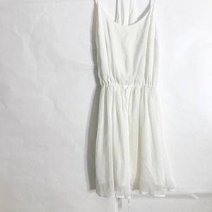 Hollister RacerBack Dress midi White XS